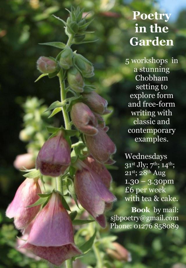 poetry in the garden 2013